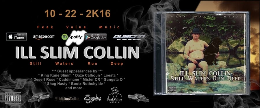 The Official Website for Grime Funk Music Producer Ill Slim Collin