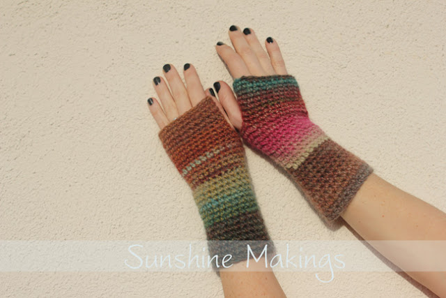 Fingerless Gloves by Sunshine Makings