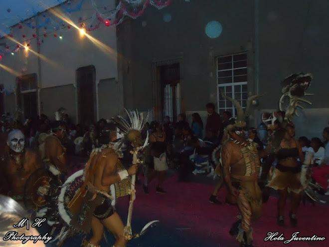 """Danzantes Chichimecas """"Guerreros de la Santa Cruz"""""""