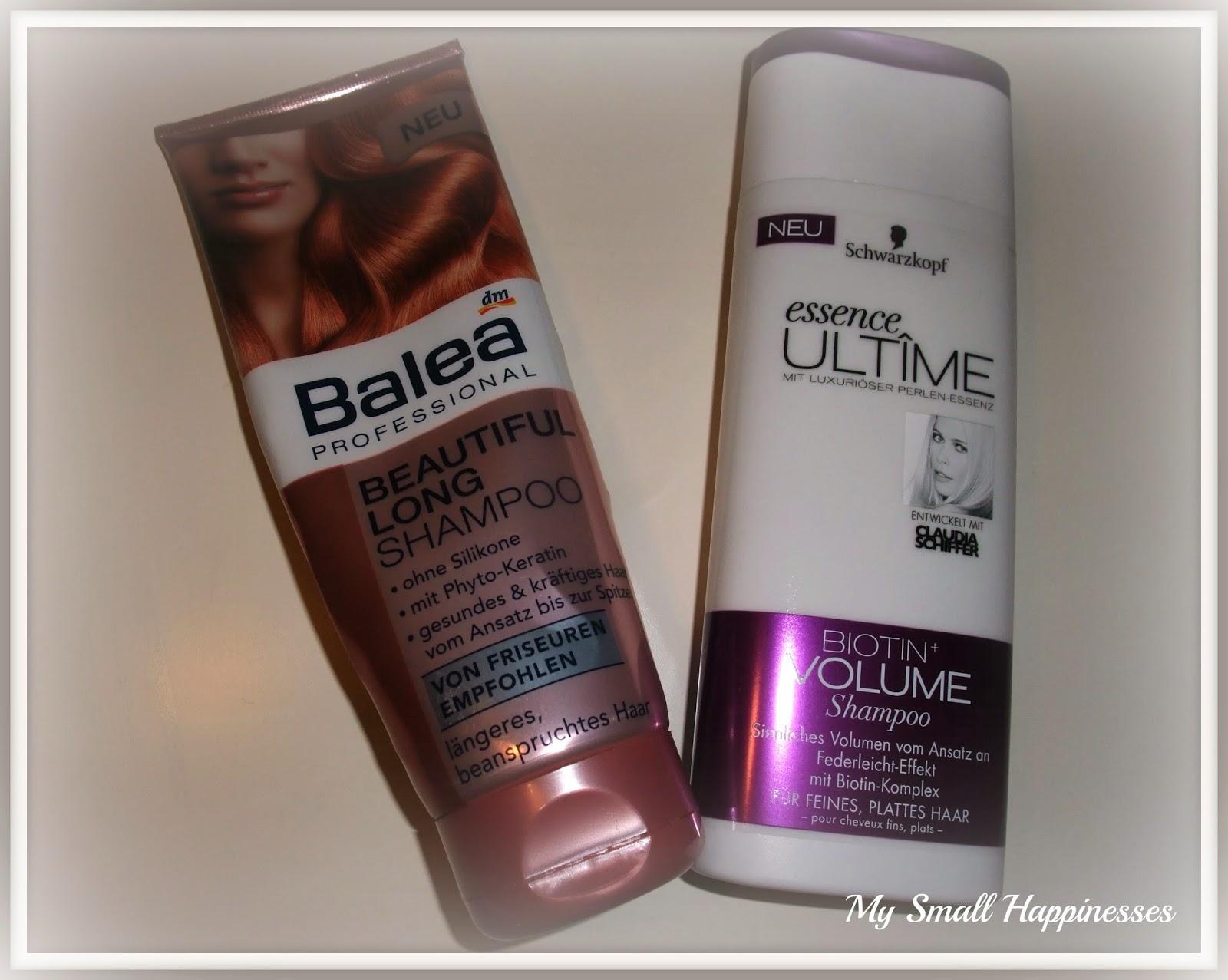 šampon na rovné vlasy