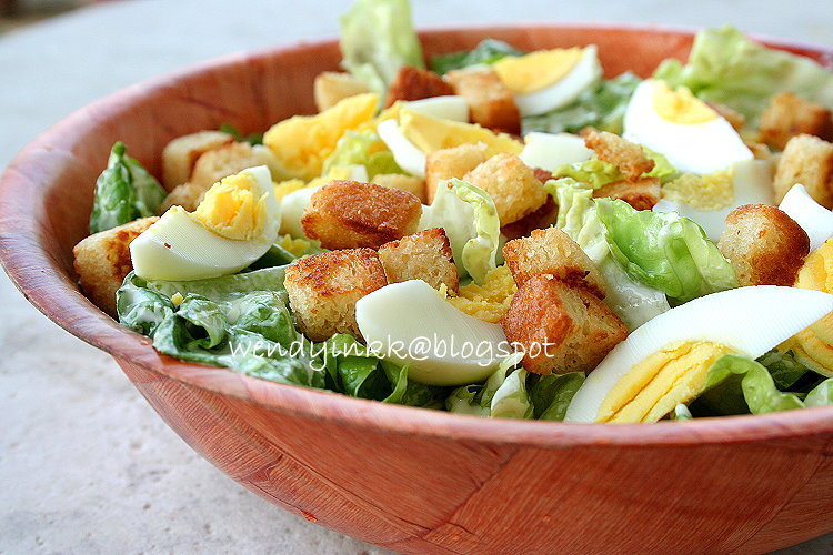 ... for 2.... or more: Caesar Salad, Wendyywy's style - Salad Week # 1