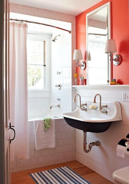 El Rincón de Berta.- Claves de cómo ganar luz y amplitud en un baño pequeño