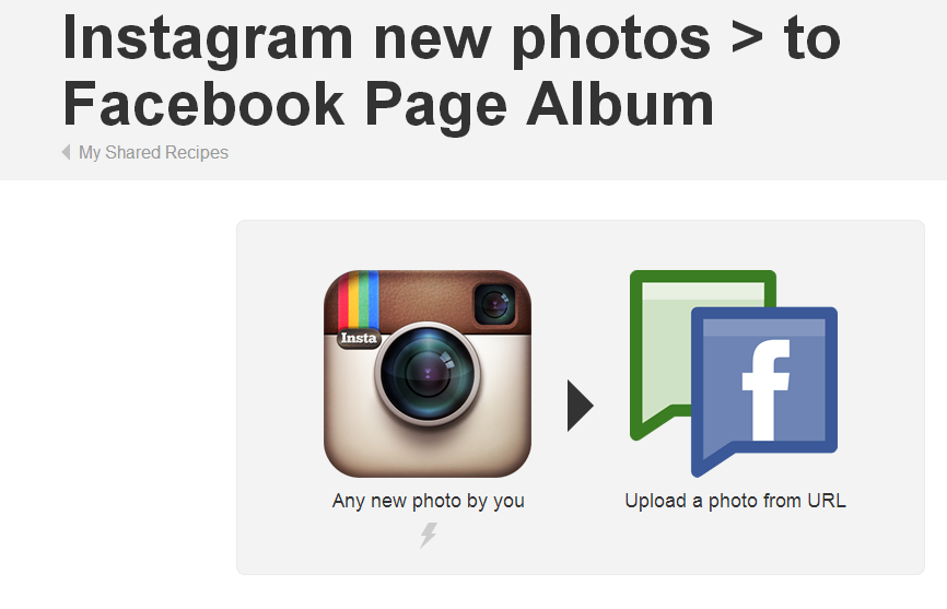 how to add an instagram account to a facebook page