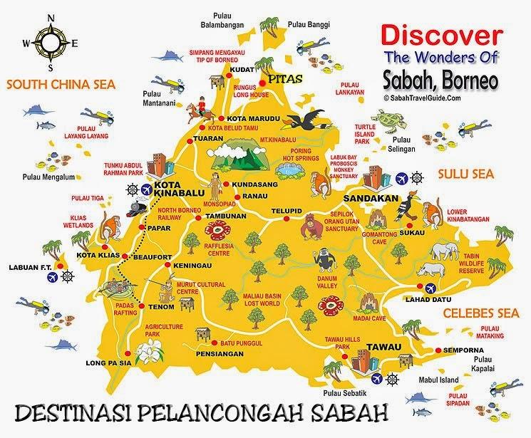 Tempat Menarik di Sabah
