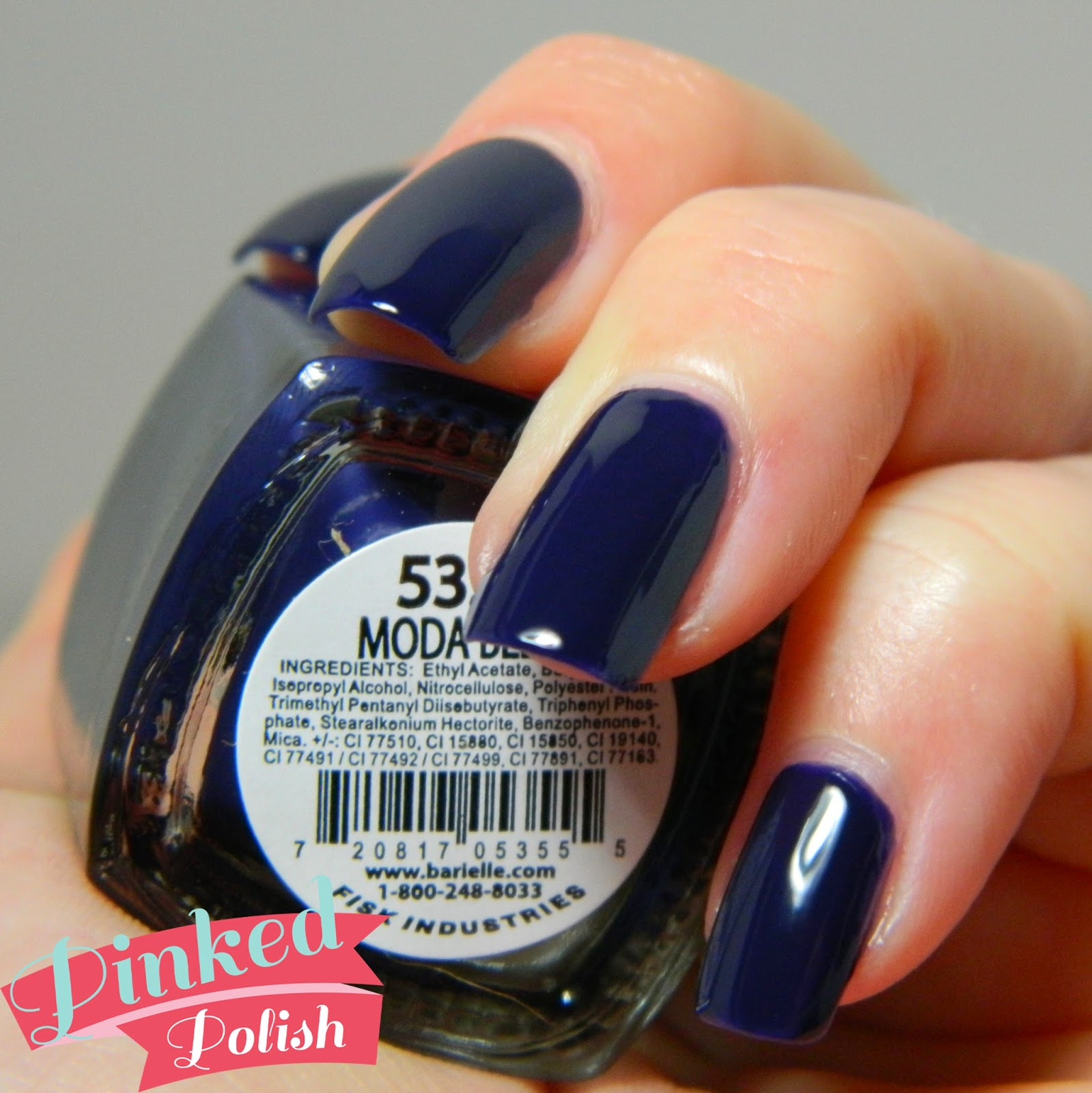 Pinked Polish: Barielle Me Couture Swatches and Review