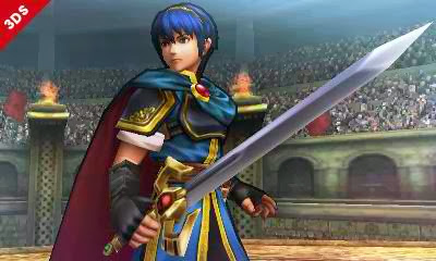 Marth - Super Smash Bros. for Nintendo 3DS