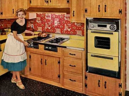 Masters Of The Old World The 1950 39 S Household Then And Now