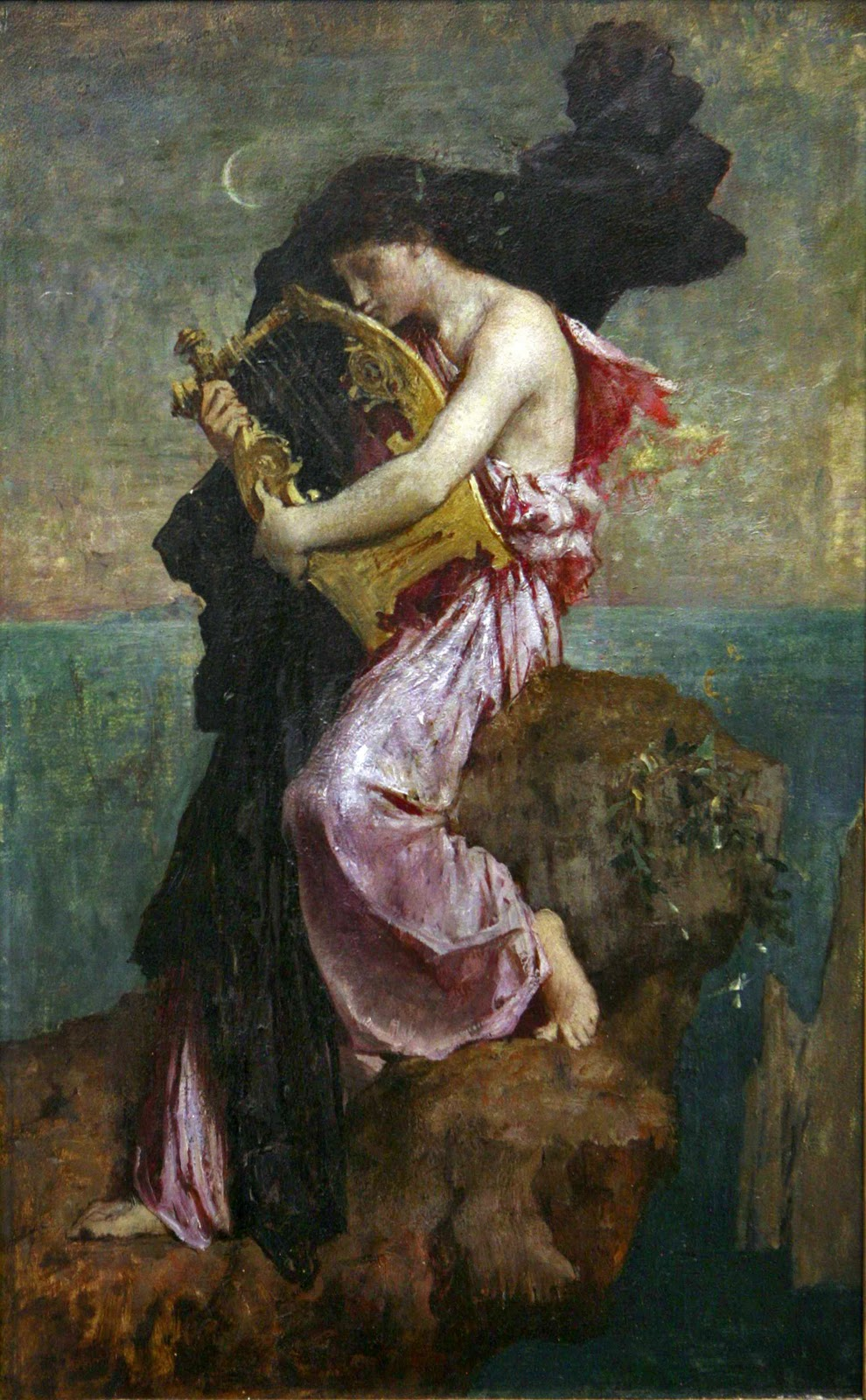 jules-elie delaunay sappho