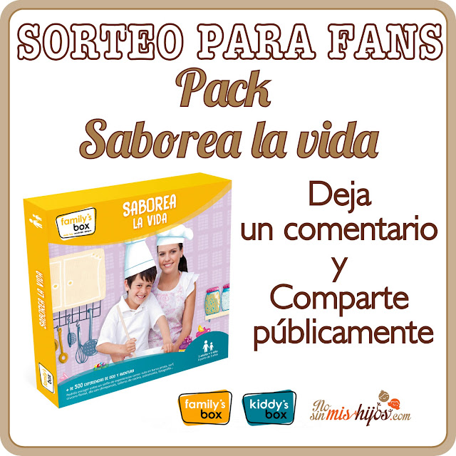 Sorteo Family´s box en Facebook