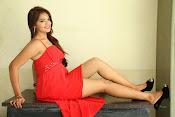 Ashwini glamorous photos in red-thumbnail-6