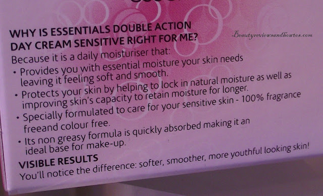 Olay Essentials Double Action Nourishing & Protecting Sensitive Day Cream Review