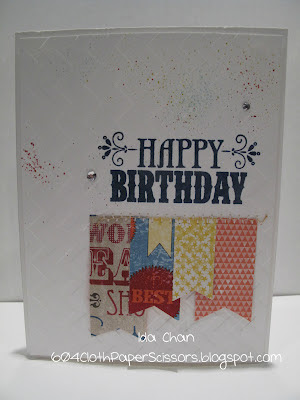You're Amazing Birthday Card - Ida Chan Stampin' Up!