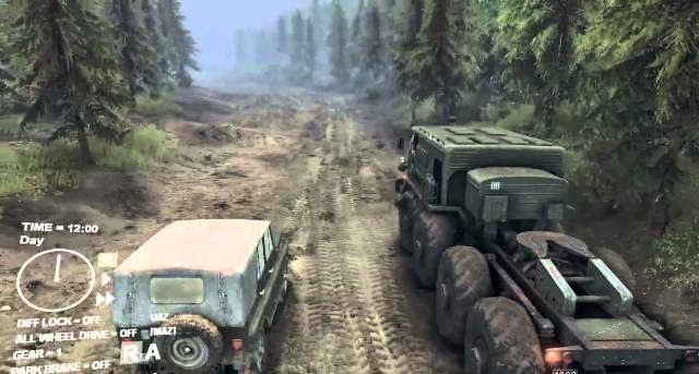 Spintires PC Game full version setup