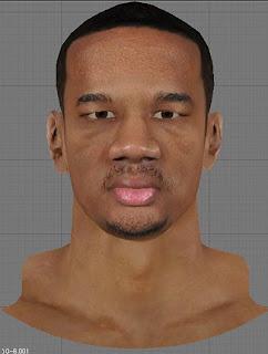 NBA 2K13 Avery Bradley Cyberface Patch