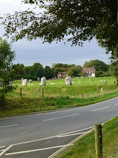 Avebury circle near village, Copyright 2012, Kaliani Devinne