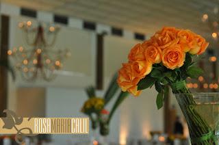 Casamento , arranjo,  casa espanha , verde  laranja