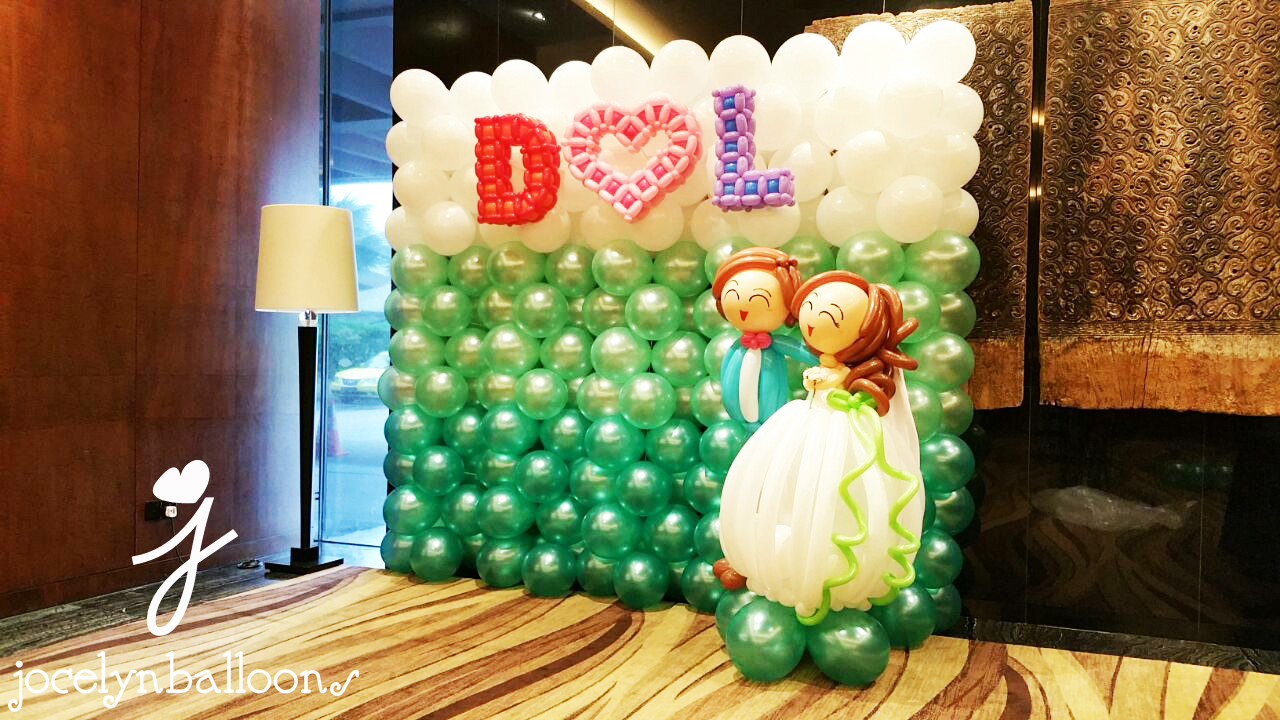 Jocelyn ng professional balloon artist blog balloon for Balloon decoration for kids
