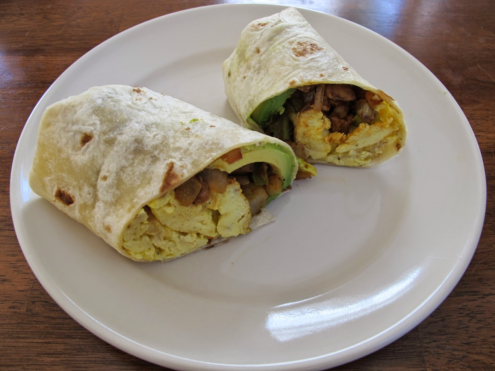Chorizo, Egg, & Potato Breakfast Burritos