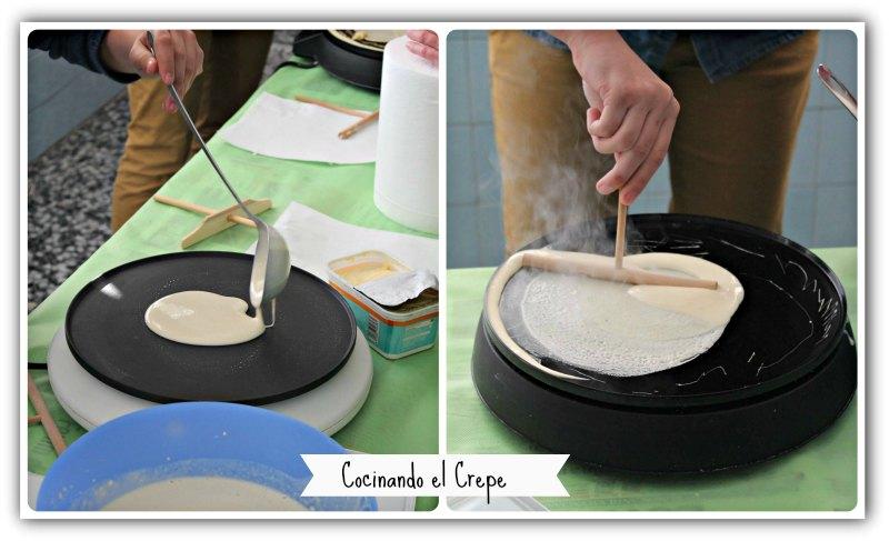 KukiBox - Preparacion del crepe