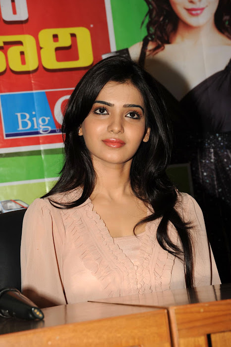 samantha new at big c event, samantha latest photos