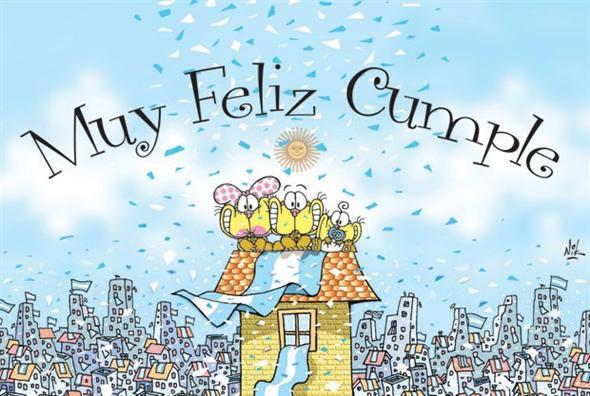 Resultado de imagen para cumpleaños de la patria argentina