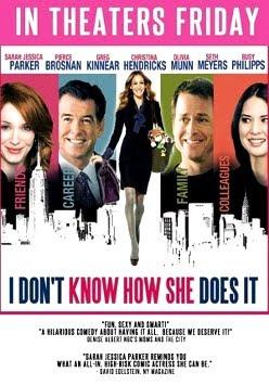 Filme Poster Não Sei Como Ela Consegue DVDRip XviD & RMVB Legendado