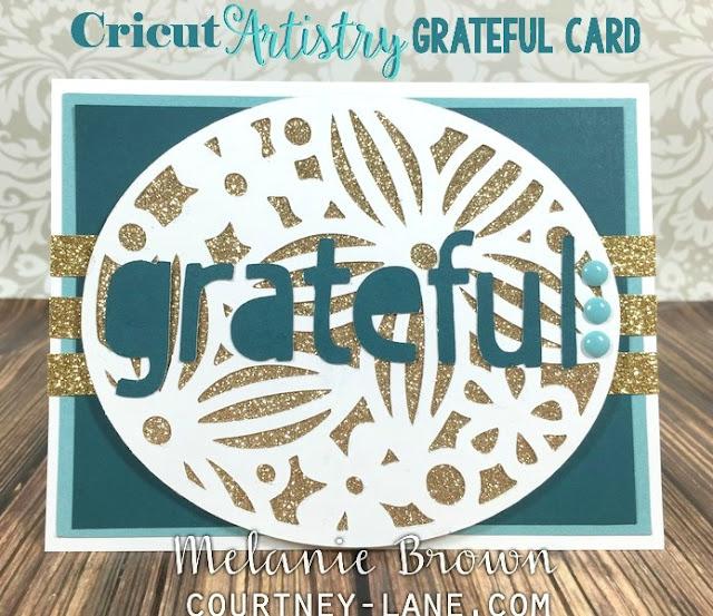 Cricut Artistry card