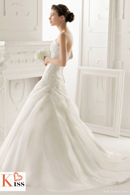 Aire Barcelona 2014 Lace Wedding Dresses