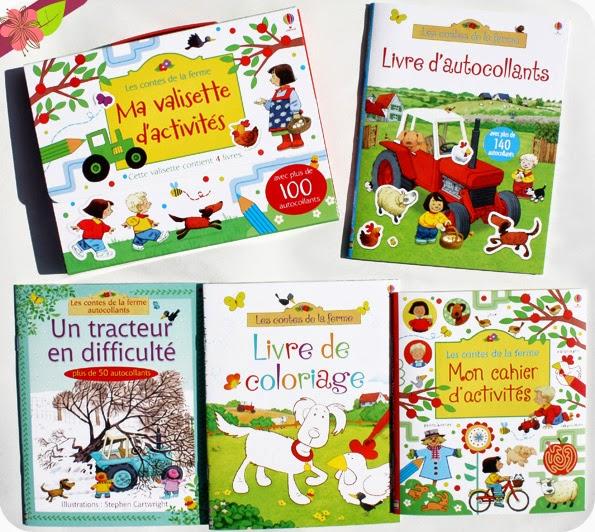 Ma valisette d'activités : Les contes de la ferme - éditions Usborne
