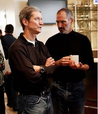 Bonus superinteressante Tim Cook Steve Jobs