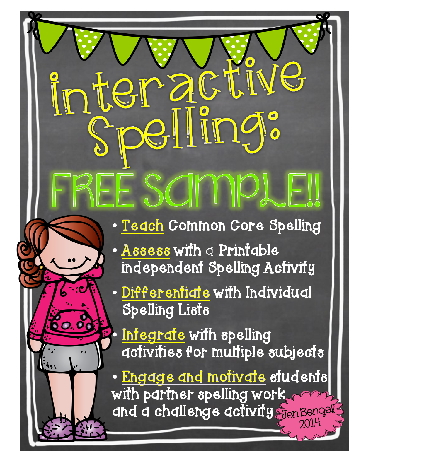 http://www.teacherspayteachers.com/Product/FreebieInteractive-Spelling-With-The-Common-Core-1165048