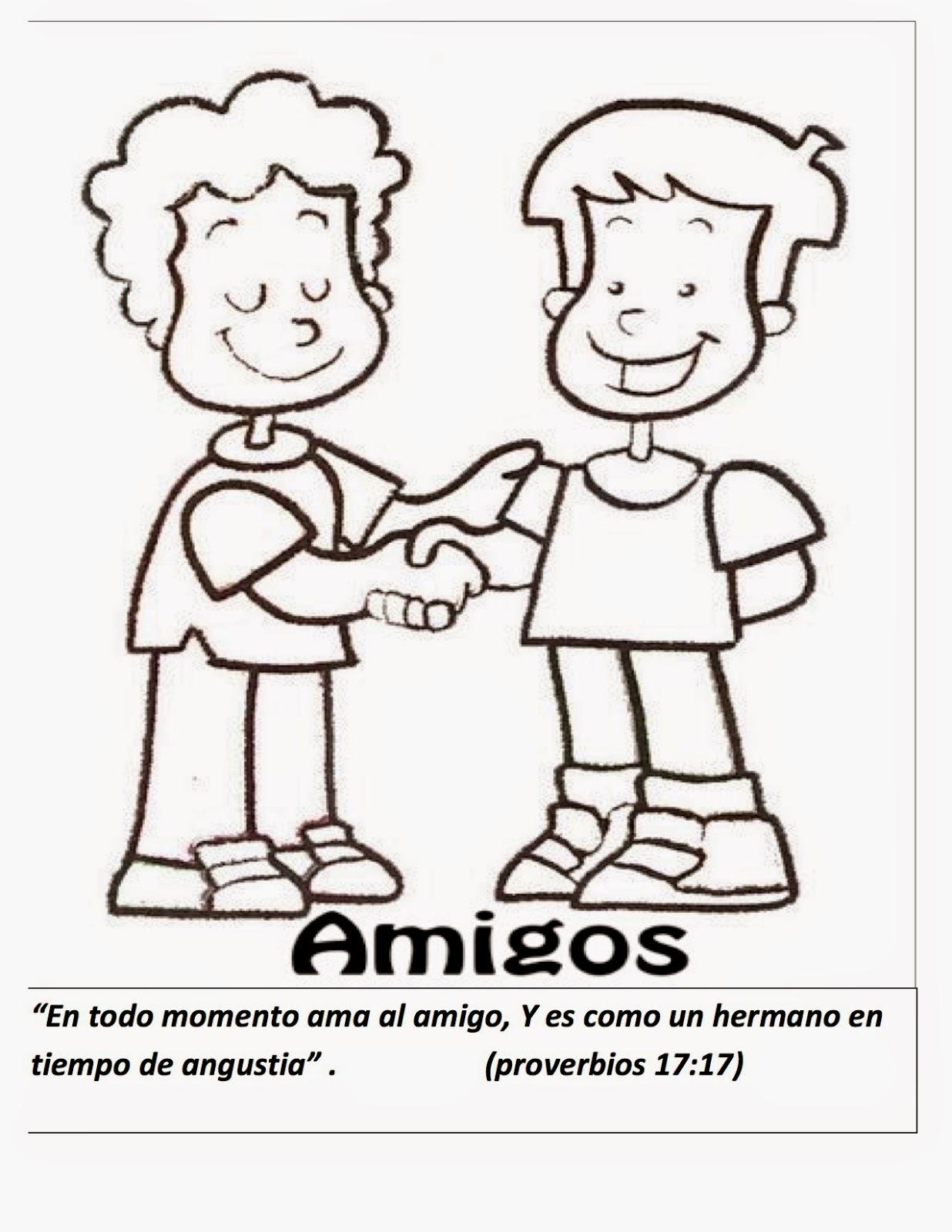 Vistoso Mejores Amigos De David Y Jonathan Para Colorear Patrón ...