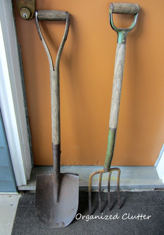My new and old garden tools organized clutter for Gardening tools for 6 year old