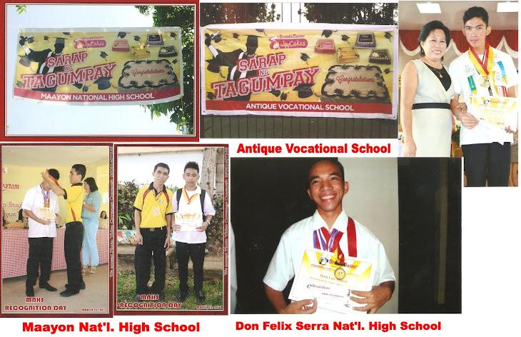 Sarap ng Tagumpay Awardees