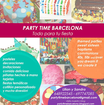 party time barcelona flyer