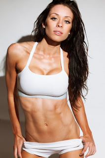 Kayla Rose lean with beautiful abs