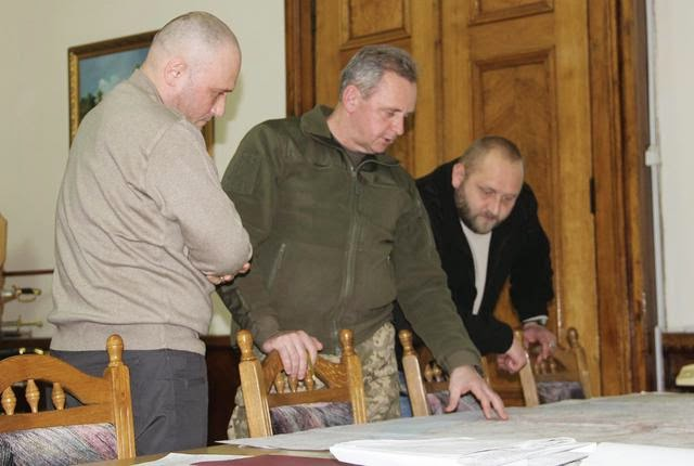 "The leader of ""Right Sector"" party Yarosh became an adviser to the Chief of General Staff"