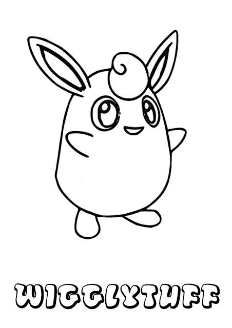 Pokémon para colorir