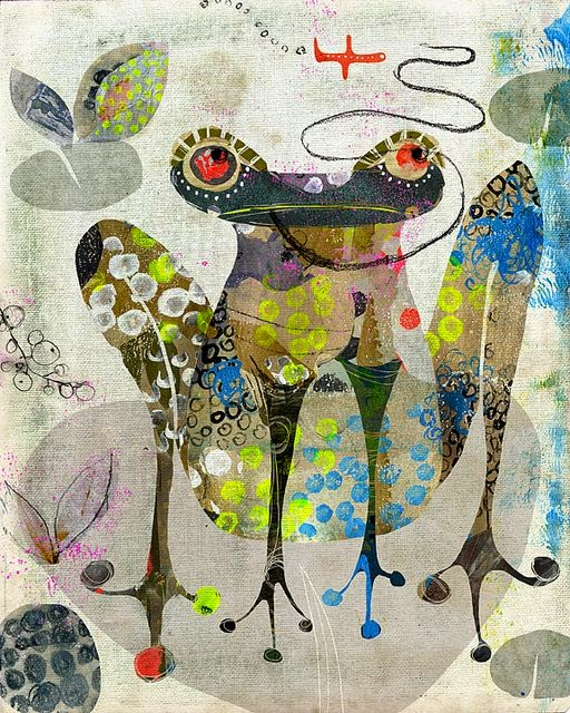 frog illustration by Andrea Daquino