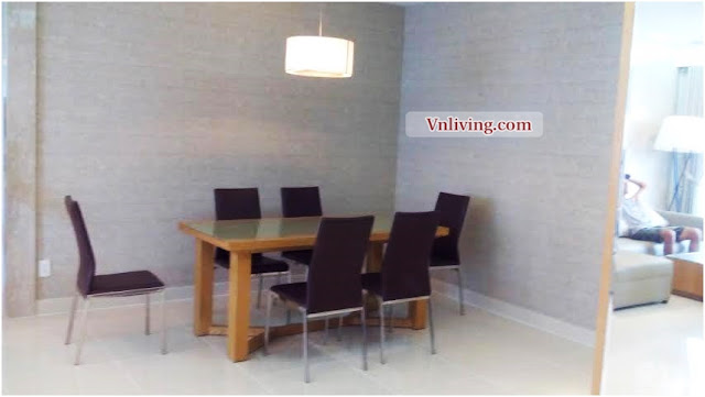 River Park Residence apartment for rent 3 bedrooms in Phu My Hung furnished