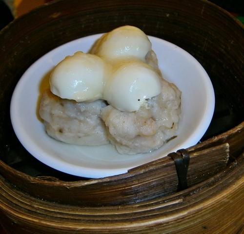 quail's egg shaomai siomai