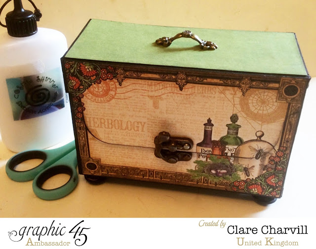 Rare Oddities ATC Box Clare Charvill Graphic 45 1