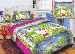 Sprei Belize Hello Kitty and Friend