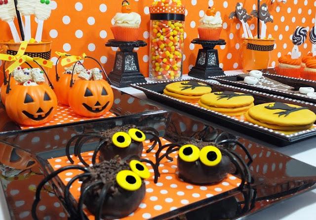 Jeitinho de Menina Decoraç u00e3o para o Halloween -> Decoração De Festa De Aniversario Halloween