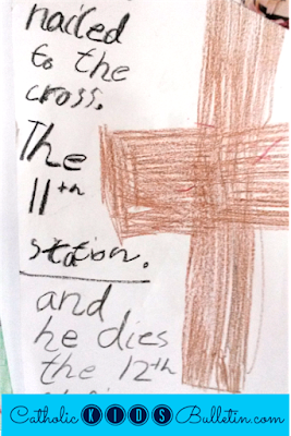 Lent Traditions, Goal Setting and Countdown, Stations of the Cross, Catholic Kids Bulletin