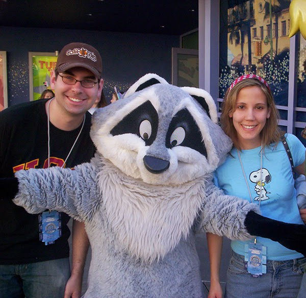 Meeko on our Dream Fastpass day
