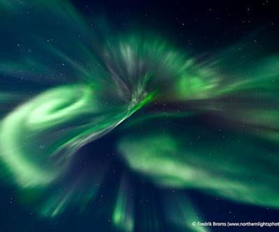 Auroras boreales 01 de Diciembre 2012