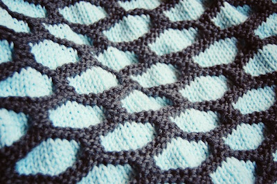 Knitting Pattern For Honeycomb Baby Blanket : Knitterella Most of the time I knit?: Girl Colors and A Boy Blanket