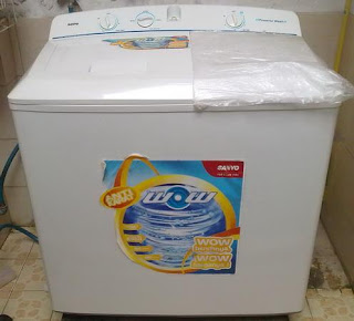 mesin cuci Sanyo 2 tabung