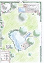 Plan für Grundstückserweiterung